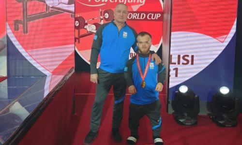 Акмолинский паралимпиец побил рекорд Азии