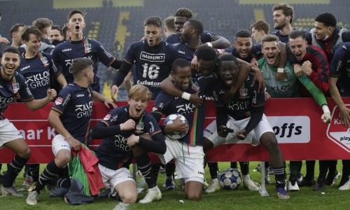 Принадлежащий «Астане» футболист со своим клубом пробился в высший дивизион Нидерландов. Видео
