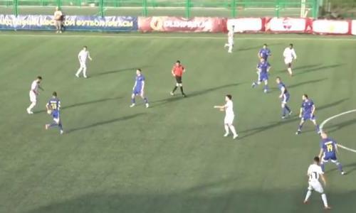 Видео гола Сали матча Премьер-Лиги «Акжайык» — «Каспий»