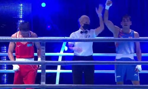 Казахстан лишился боксера в первом же бою чемпионата Азии-2021