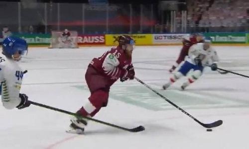 Сборная Латвии одержала победу после поражения Казахстану