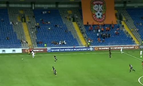 Видео гола Лобжанидзе матча Премьер-Лиги «Шахтер» — «Тобол»