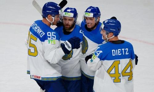 «Сумела дотерпеть». Сайт НХЛ прокомментировал сенсационную победу сборной Казахстана на ЧМ-2021 и выделил ее главного героя