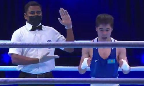 Казахстан гарантировал себе первую медаль на чемпионате Азии-2021 по боксу