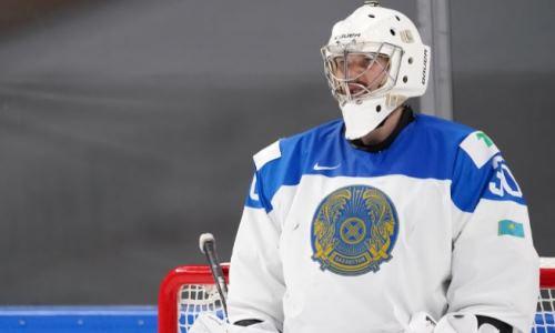 Почти как с финнами. Хоккеист сборной Казахстана показал впечатляющую статистику в матче с США