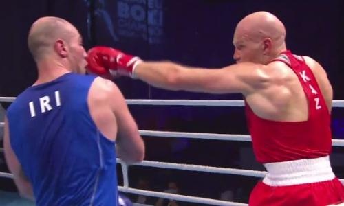 Видео полного боя Василия Левита против стопроцентного нокаутера из профи на ЧА-2021