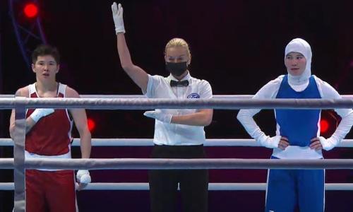 Двукратная чемпионка мира из Казахстана побила узбечку на старте чемпионата Азии-2021