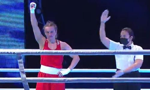 Чемпионка Казахстана по боксу с победы стартовала на чемпионате Азии-2021