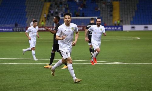 Асхат Тагыберген забил юбилейный мяч в Премьер-Лиге