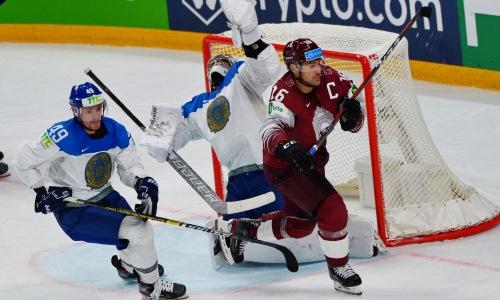 Хоккеист сборной Казахстана заинтересовал скаутов из НХЛ своей игрой на ЧМ-2021