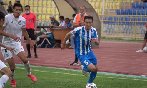 Два футболиста «Тараза» не сыграют в Петропавловске