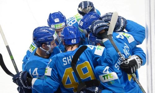 Сборная Казахстана сенсационно победила Германию на чемпионате мира по хоккею