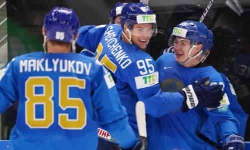 Сборная Казахстана отметилась уникальным достижением на чемпионате мира по хоккею. Видео
