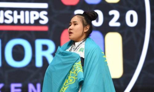 Казахстанская спортсменка завоевала «бронзу» на юниорском чемпионате мира по тяжелой атлетике