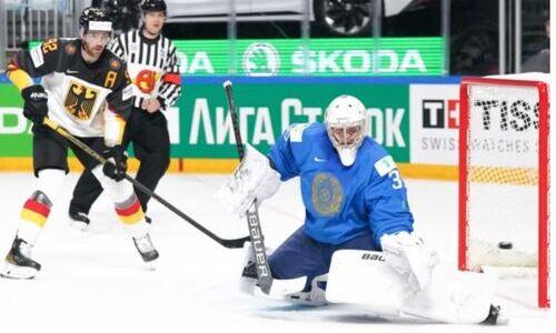 «Уверенно держали экзамен». КХЛ разобрала невероятный камбэк сборной Казахстана в матче с Германией на ЧМ-2021