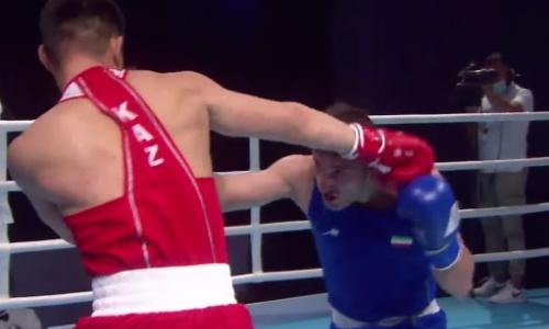 Видео полного боя с поражением чемпиона мира Бекзада Нурдаулетова иранцу на старте ЧА-2021