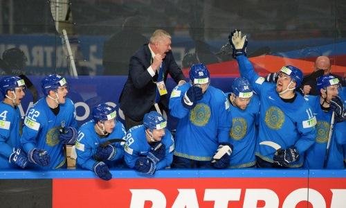 «Буллит? Изи». «Барыс» эмоционально реагировал на яркие эпизоды третьей победы сборной Казахстана на ЧМ-2021