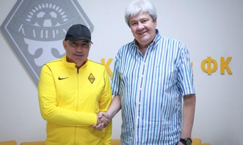 «Кайрат» официально представил Курбана Бердыева