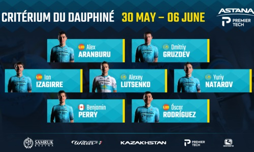 «Астана объявила состав на «Критериум дю Дофине»