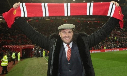 Тайсон Фьюри обратился к лидеру «Манчестер Юнайтед» после поражения его клуба в финале Лиге Европы «Вильярреалу»