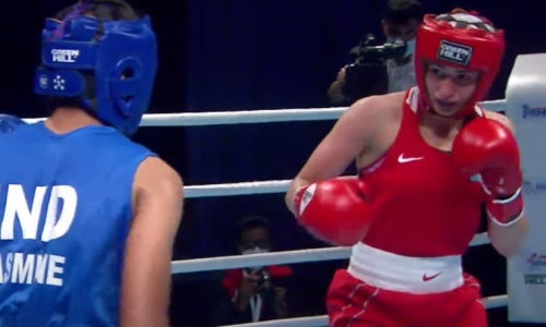 Четвертая казахстанка вышла в финал чемпионата Азии-2021 по боксу