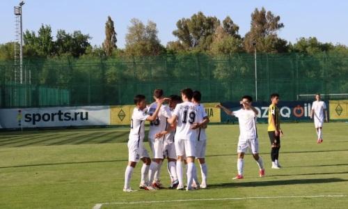 Дубль Мемешова позволил «Кырану» обыграть «Мактаарал» и стать единоличным лидером Первой лиги