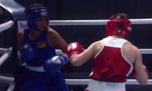 Видео полного боя с тремя нокдаунами и нокаутом двукратной чемпионки мира из Казахстана