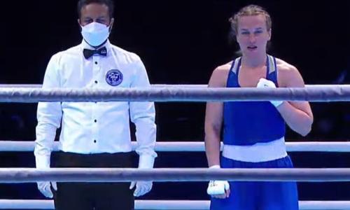 Чемпионка Казахстана отправила соперницу в нокдаун и стала пятой финалисткой ЧА-2021
