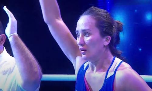 Казахстанская боксерша побила вице-чемпионку мира из Узбекистана в полуфинале ЧА-2021