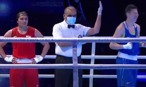 Чемпионка Казахстана вышла в финал ЧА-2021 по боксу