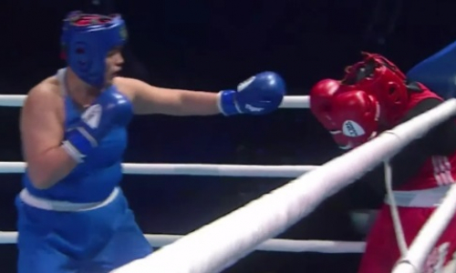 Видео полного боя, или Как десятикратная чемпионка Казахстана за раунд уничтожила соперницу на ЧА-2021