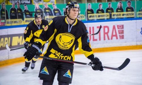 «Сарыарка» объявила о подписании контракта с воспитанником ЦСКА и чемпионом ВХЛ