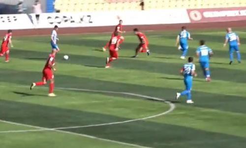 Видеообзор матча Премьер-Лиги «Кызыл-Жар СК» — «Тараз» 2:2