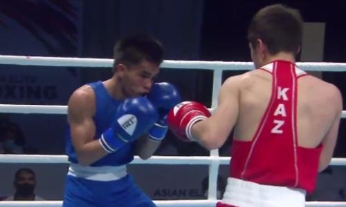 Видео боя, или Как первый казахстанец уверенно вышел в финал чемпионата Азии по боксу