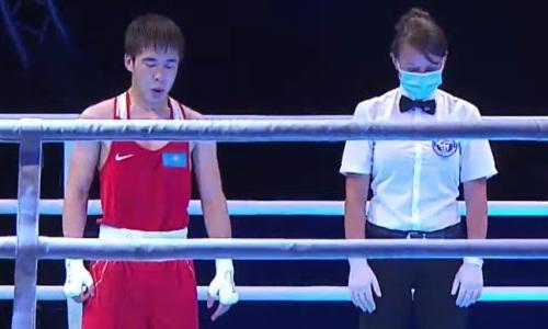 Первый казахстанский финалист ЧА-2021 сразу же попал на чемпиона из Узбекистана