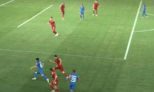 Видео гола Нурбола матча Премьер-Лиги «Туран» — «Жетысу»