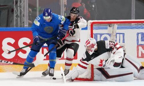 Стало известно, насколько сборная Казахстана перебросала Канаду в концовке матча на ЧМ-2021. Статистика