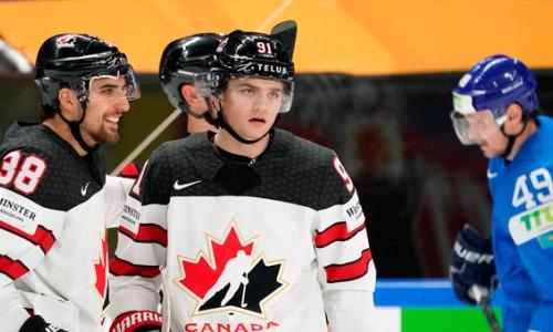 «Мне повезло». Форвард сборной Канады рассказал о победном голе Казахстану