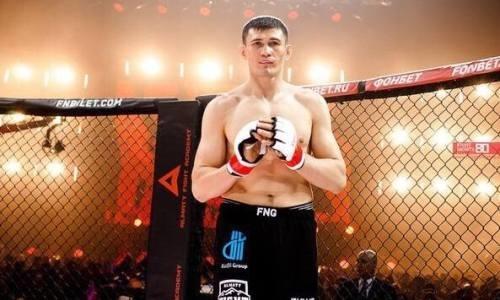 «Я недоволен собой». Казахстанец высказался о победе над экс-бойцом UFC и раскрыл планы