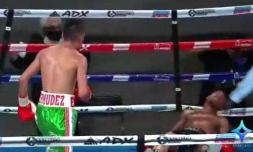 Главный бой вечера завершился сенсационным поражением чемпиона мира WBA убойным нокаутом. Видео