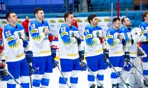 Сборная Казахстана забила седьмую шайбу Италии на чемпионате мира-2021. Видео