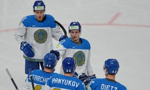 Сборная Казахстана с двузначным счетом деклассировала Италию на чемпионате мира по хоккею