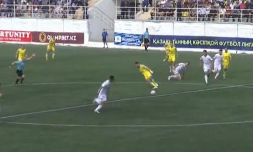 Видеообзор матча Премьер-Лиги «Каспий» — «Астана» 2:2