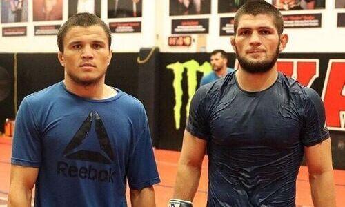 Победивший Морозова брат Хабиба Нурмагомедова озвучил сроки своего возвращения в UFC после травмы