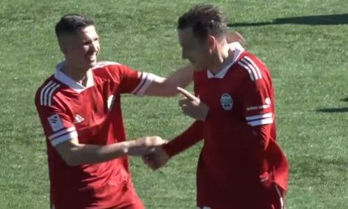 Уроженец Казахстана оформил эффектный дубль в матче европейского чемпионата. Видео