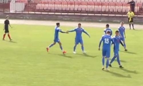 «Классно получилось». 19-летнему казахстанцу хватило трех минут для дебютного гола в Европе. Видео