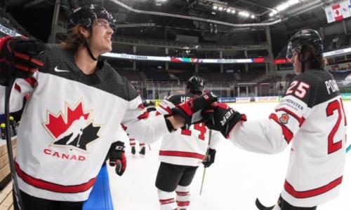 Канада разнесла Италию и стала опасной для Казахстана в борьбе за плей-офф ЧМ-2021 по хоккею