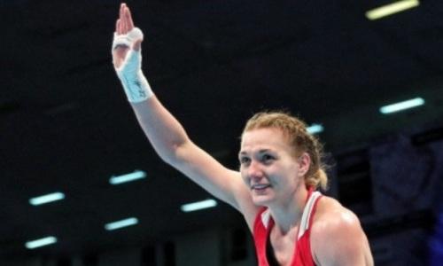 Чемпионка мира из Казахстана завоевала «золото» в первом же бою на чемпионате Азии по боксу