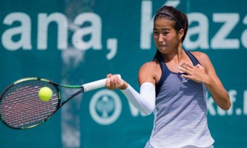 Казахстанская теннисистка стала абсолютной победительницей турнира ITF