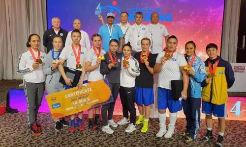 Президент Казахстана поздравил женскую сборную по боксу с победой на чемпионате Азии